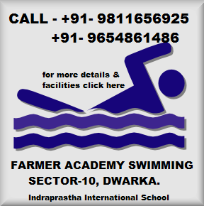 Swimming lovers in Dwarka – Indraprastha International School, Sector 10