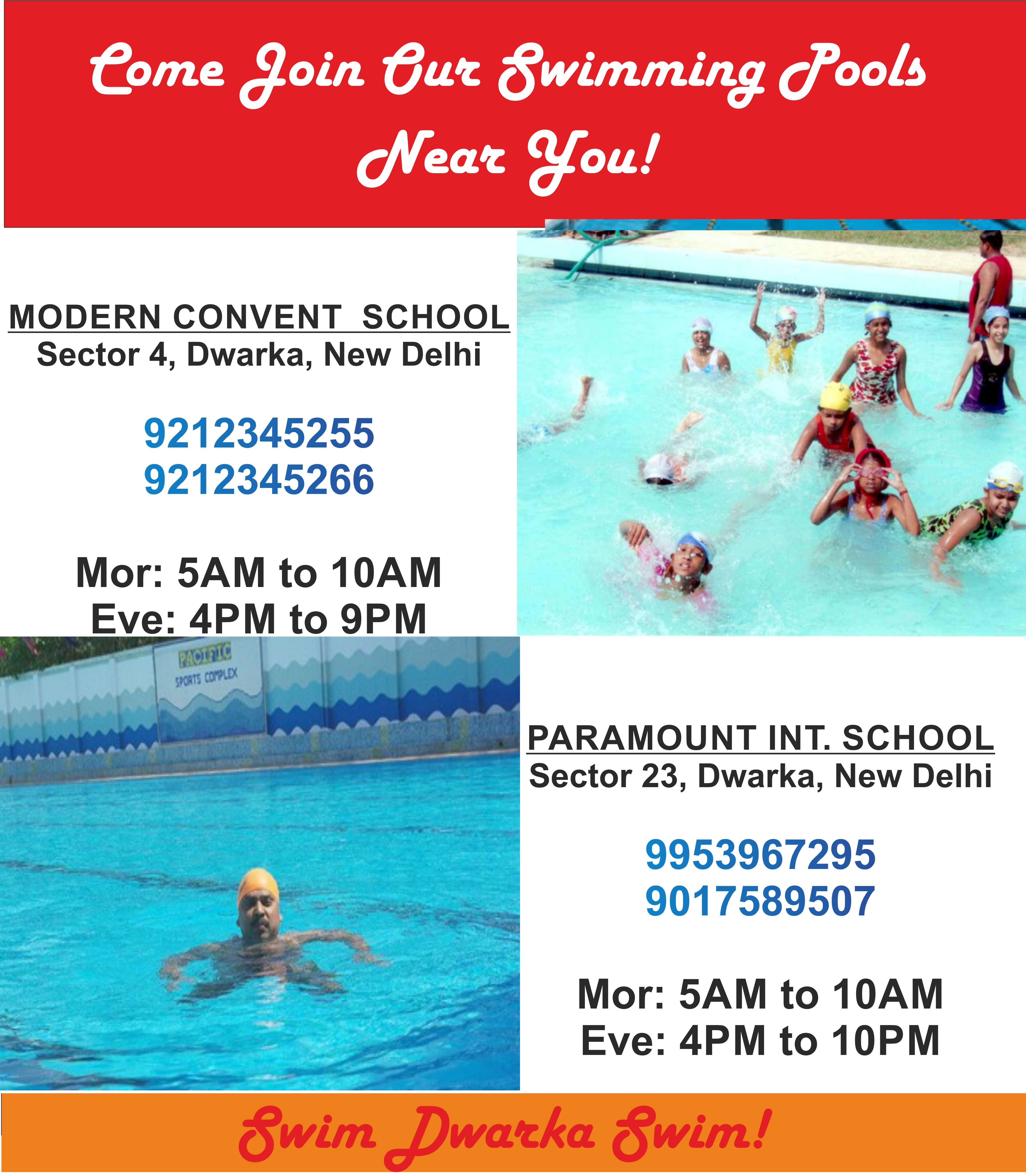 Learn to swim this summer | Shangri-La's Eros Hotel New Delhi