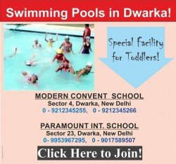 Swimming Pool in Dwarka Near You!
