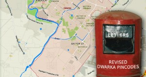Revised Pin Codes of Dwarka, New Delhi