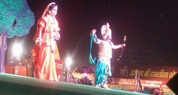 Glimpse from Ramlila Mela of Dwarka at different venues