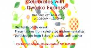 World's Earth Day Event in Dwarka