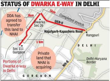 An underground passageway to connect Dwarka expressway with Delhi airport soon