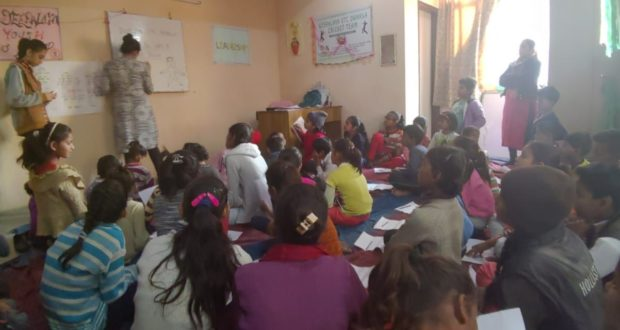 "Slum Children Introduced to the Concepts of ""Safe Touch and Unsafe Touch"""