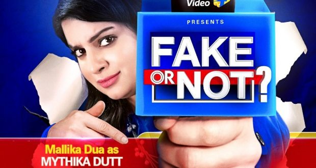 Mallika Dua takes on the role of news anchor 'Mythika Dutt' for a new show – 'Fake or Not?'