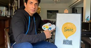 HUMANITARIAN SONU SOOD JOINS HANDS WITH SMILE FOUNDATION AND LAY'S FOR A SPECIAL 'ARTWORK FOR HEARTWORK' INITIAITIVE